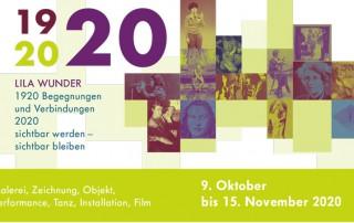 Lila Wunder Ausstellung Eröffnung